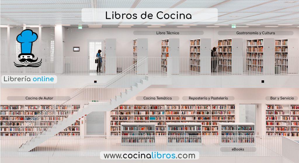 Librería online cocinalibros.com - Chef-Club Servicio Bibliográfica de Cocina Profesional