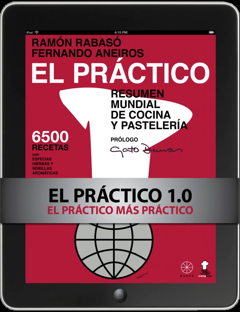"""Libro de cocina """"El Práctico 6500 Recetas"""" - Rabasó y Aneiros - RUEDA & Cooking Books - Edición Digital"""