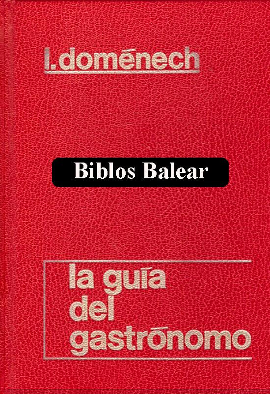 """Libro de cocina """"El Arte de la Cocktelería"""" Biblos Balear"""