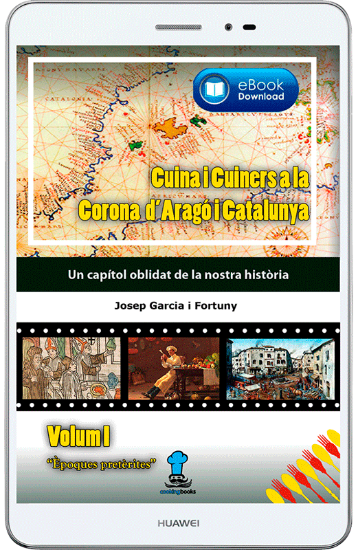 eBook Cuina i Cuiners a la Corona d'Aragó i Catalunya - Volum I