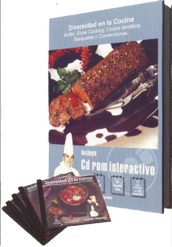 Libro+ CD Rom Diversidad en la Cocina - Lorenzo Delgado